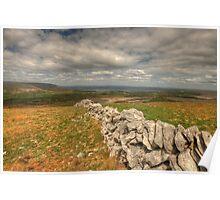 Burren Landscape Poster