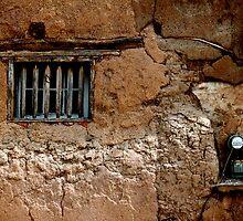 Adobe House Window - Mesilla by Larry3