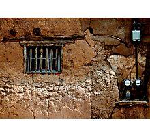 Adobe House Window - Mesilla Photographic Print