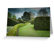 The Long and Winding Hedge:-) Greeting Card