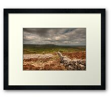 Burren View Framed Print