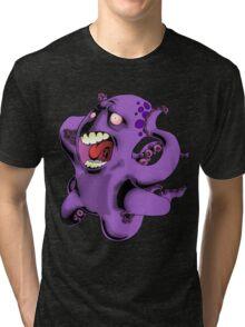 Flight of the Octopus Tri-blend T-Shirt