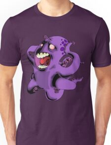 Flight of the Octopus Unisex T-Shirt