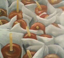 Caramel Apples by ChePanArt