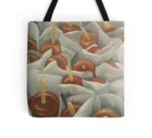 Caramel Apples Tote Bag