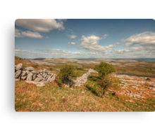 Glen Hill View Canvas Print