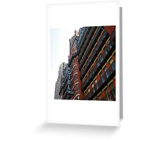 the Chelsea hotel New Yorks home to Creatives for many many moons. Greeting Card
