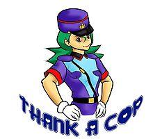 thank a cop by aleushadrake