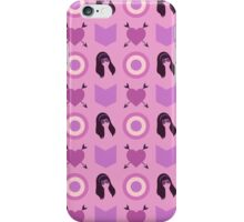 Hawkeye Kate Bishop Pattern iPhone Case/Skin