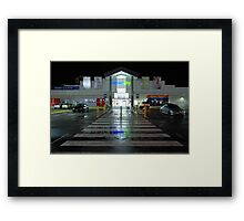 Stairway to retail heaven Framed Print
