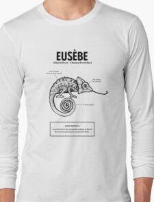 A chameleon named Eusèbe Long Sleeve T-Shirt