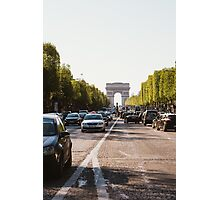 Champs Elysees Photographic Print