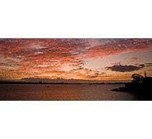 San Juan Sunset Photographic Print