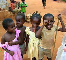 Spice Route village kids by Mellany