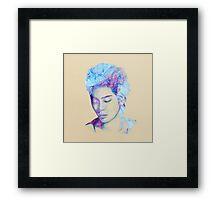 BlueJong Framed Print