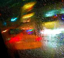 taxi in the rain by ShellyKay