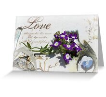 The Art Of Love Greeting Card