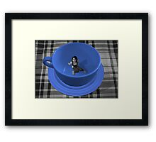 'Guess Who's coming to Tea' Framed Print