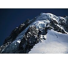 Summit of Aiguille Verte Photographic Print