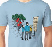 Those Who Arrive, Survive Unisex T-Shirt