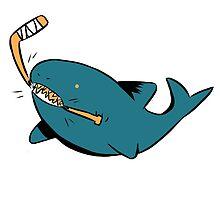 a san jose shark by ninjaomelet