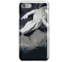 White Albino gator on the prowl iPhone Case/Skin