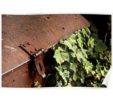 Treasure Chest with Ivy Poster