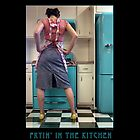 Fryin' in the Kitchen, ©2010 Roland Taylor by Roland Taylor