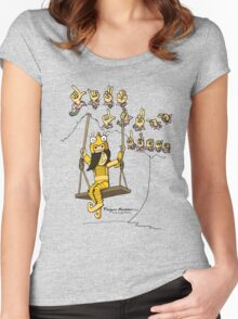 Yuki and the Sign Language Tree Women's Fitted Scoop T-Shirt