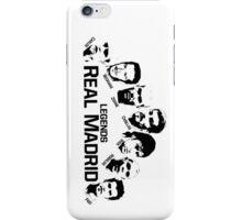 real madrid legends iPhone Case/Skin