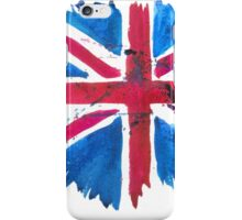 Watercolor Flag of the United Kingdom of Great Britain and Northern Ireland iPhone Case/Skin