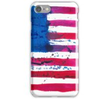 Watercolor Flag of the USA iPhone Case/Skin