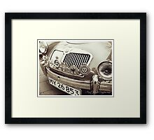 1959 MGA Roadster Framed Print