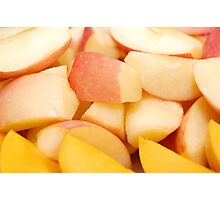 Fruits: Apples and Mangoes Photographic Print