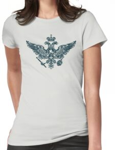 Coat of Arms of Russian Empire Womens Fitted T-Shirt