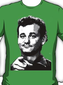 Awesome Bill Murray - Ghostbusters - Street art Graffiti Popart Andy warhol by Jonny2may T-Shirt
