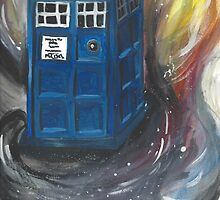 tardis in space by picoleodeon
