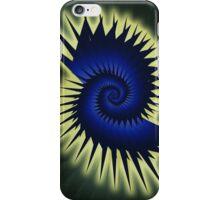 Blue Spiral iPhone Case/Skin
