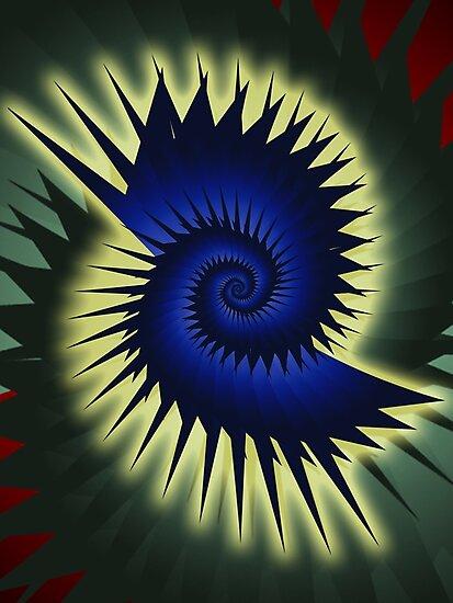 Blue Spiral by shane22