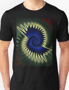 Blue Spiral Unisex T-Shirt