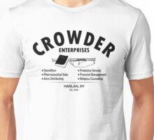 Crowder Enterprises (Black) Unisex T-Shirt