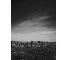 Sheets Of Clouds Photographic Print