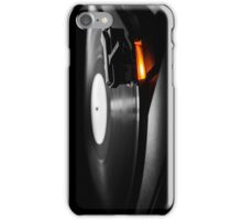 old style turntable with needle iPhone Case/Skin