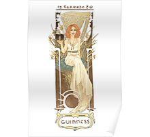 Nouveau Guinness Poster