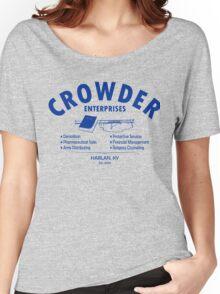 Crowder Enterprises (Blue) Women's Relaxed Fit T-Shirt