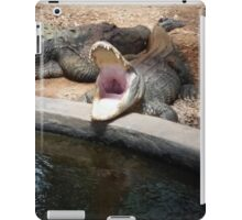 Gator opening wide iPad Case/Skin