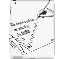 PSALMS 37:23   THE STEPS OF A GOOD MAN iPad Case/Skin