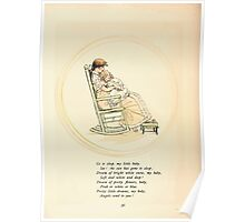 Rose Buds Virginia Gerson 1885 0040 Sleep Baby Sleep Poster
