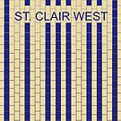 ST. CLAIR WEST Subway Station by Daniel McLaren