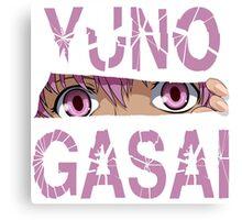 Yuno Gasai Canvas Print